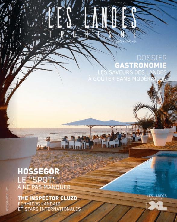 Magazine gratuit du CDT des Landes - Rédaction Atelier le Pressoir