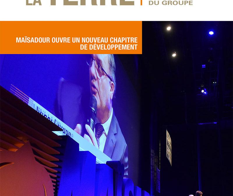 Contribution au magazine Le Sens de la Terre pour le groupe coopératif Maïsadour