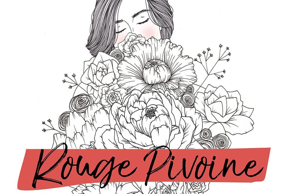 Création du site web de Rouge pivoine, fleuriste au Pays basque