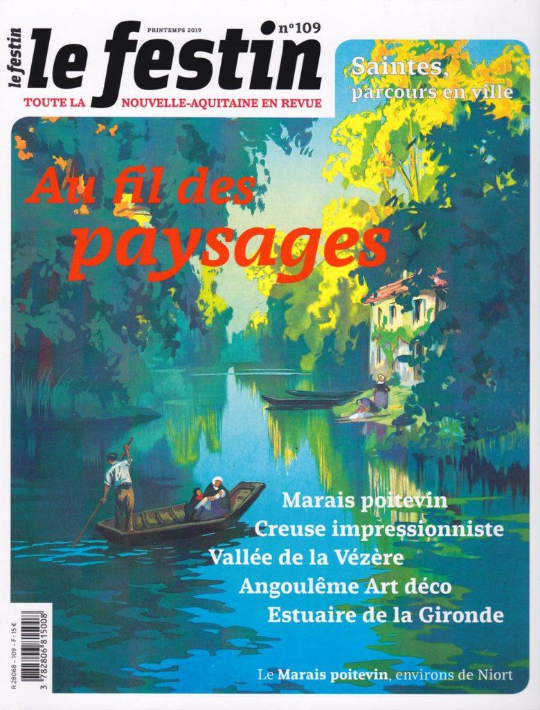 Reportage sur le jardin de Marrast par Sylvain Lapique dans le Festin