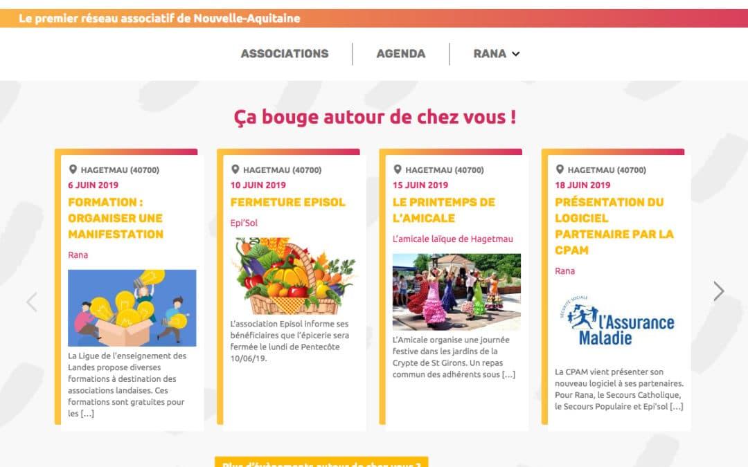 Création d'un outil web inédit pour le réseau associatif Rana
