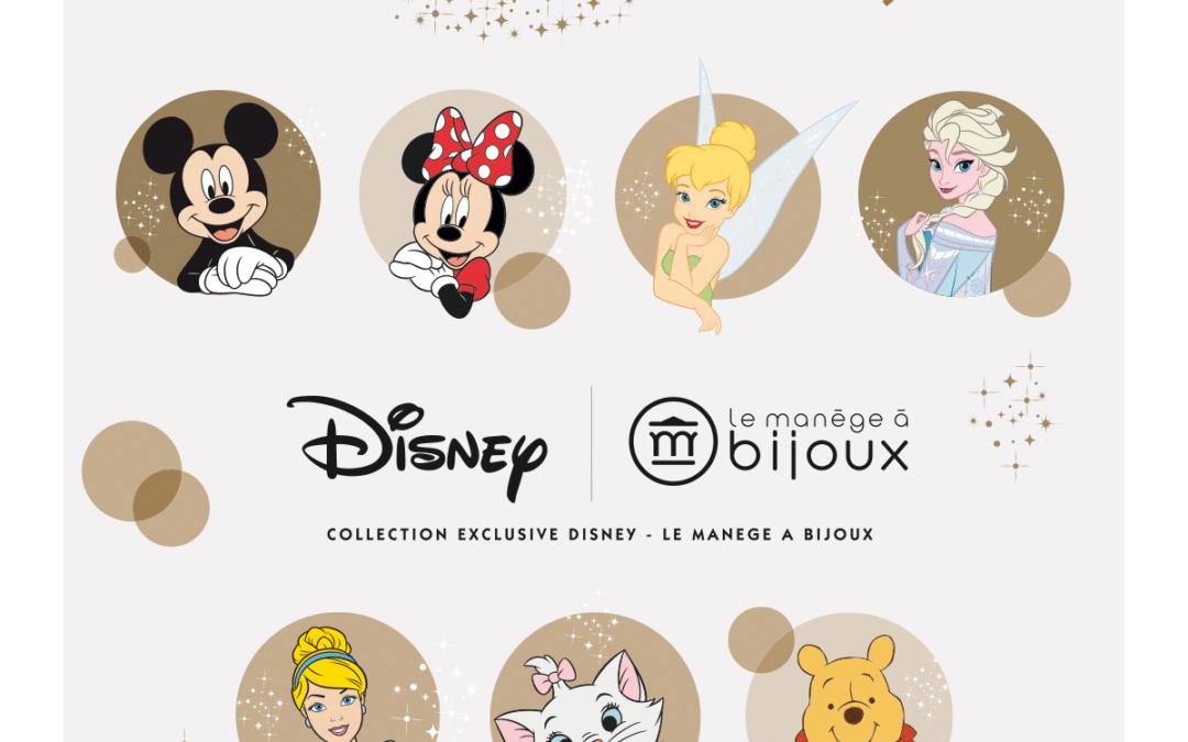Conception-rédaction pour la collection Disney du Manège à bijoux