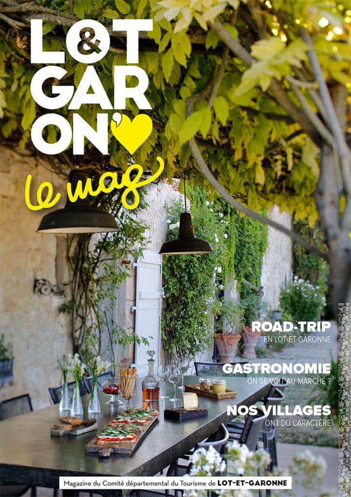 Rédaction magazine de destination 2020 du Comité du tourisme Lot-et-Garonne