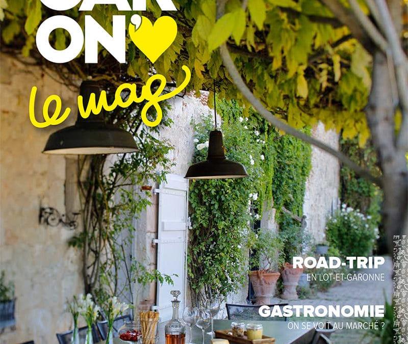 Rédaction du magazine de destination 2020 du Lot-et-Garonne