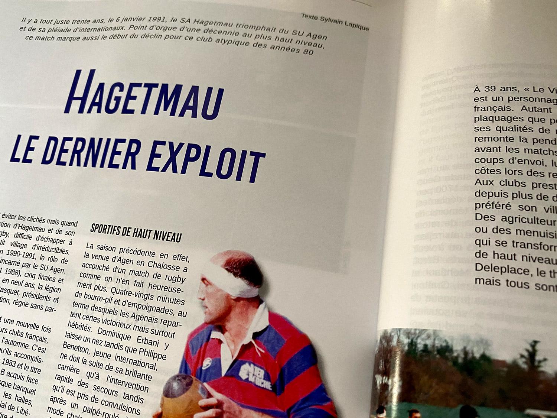 Hagetmau - match de légende 1991 - SA Hagetmau SU Agen