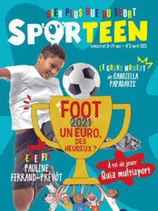 Sporteen Mag : presse jeunesse sport - n°3 avril 2021